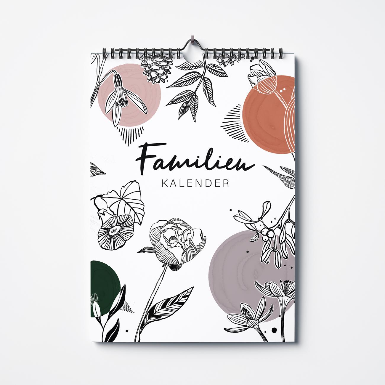 moDeern Design Studio | Print- & Surface Pattern Design | Familienkalender Katharina Katz
